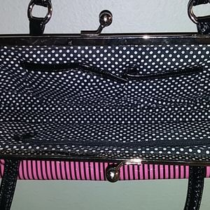 Bags - Pink and Black Purse